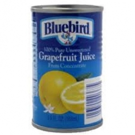 BLUEBIRD GRAPEFRUIT JUICE