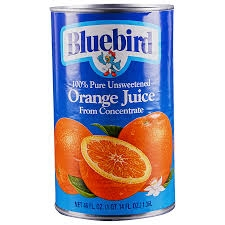BLUEBIRD ORANGE JUCIE
