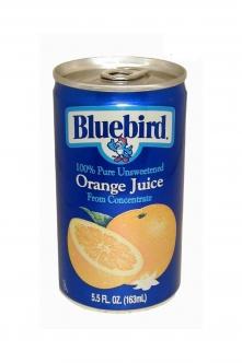 Blue Bird Orange Juice