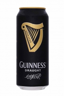 Guinnes Beer Draught Can